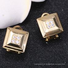 chian fábrica brincos de ouro personalizado 2018 novo design