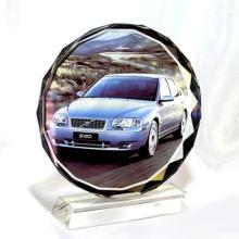 Fábrica Direct Low Price Sun Flower Cristal Sublimação Crystal Heat Press Crystal