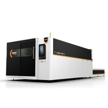 7% Discount 2000W 3000W 4000W 6000W CNC Fiber Laser Cutting Machine With Cover and Change Table For Sale