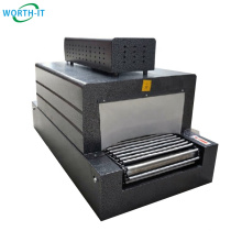 Mini shrinking tunnel small product packaging machine