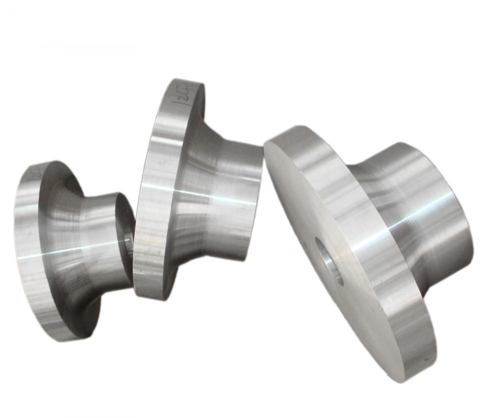 Adapting flange forgings