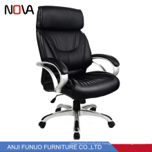 Nova Classic Black Leather Commercial Ergonomic Racing Executive Office Chair