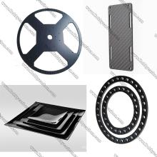2.0x400x500mm Carbon Fiber Sheet Frame for CNC Cutting