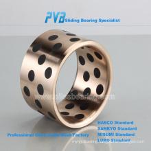 JM5-15 oiles brass mould bearing,JDB metal machined bronze guide element casted bushing,graphite marine thrust bush
