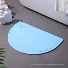 Tapis de bain en diatomées doux tapis lavable antibactérien