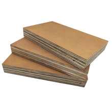 Qinge 1220x2440 15mm Eucalyptus core waterproof mdo hdo exterior grade plywood with CARB certificate