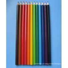 Lápis de cor de madeira natural definido (Xl-02003