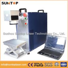 10W 20W 30W Металлическая и неметаллическая волоконная лазерная маркировочная машина для iPhone Ring Plastis