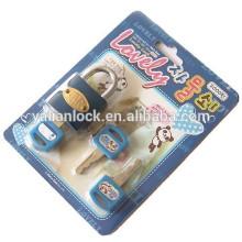 korea cute colorful iron padlock