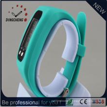 Montre de sport de poignet de bracelet de la mode LED avec le logo du client