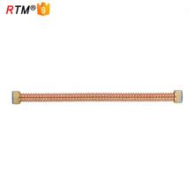J17 4 13 24 stainless steel corrugated flexible hot water hose teflon hose