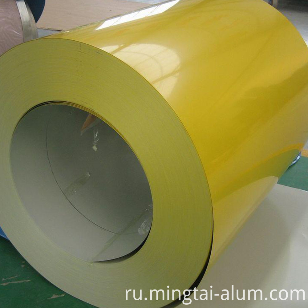 3003 Color Coated Prepainted Aluminum Coil Factory Price