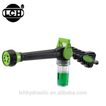 trade assurance 7 functions plastic garden hose water spray gun