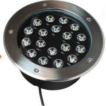 Recessed Inground 15W LED Foot Light with Epistar Chips