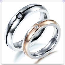 Anillo de dedo de la joyería del acero inoxidable de la joyería de la manera (SR583)