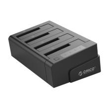 ORICO 2.5 et 3.5 pouces SATA2.0 USB3.0 1 à 3 Clone Disque dur externe - Noir (6648US3-C-V1)