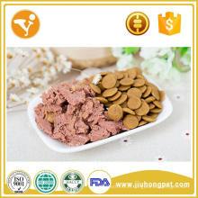 Fábrica de alimentos profissional para comida de cachorro molhada de etiqueta privada