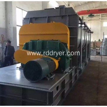 Electroplating Sewage Sludge Hollow Paddle Dryer Paddle Drying Machine