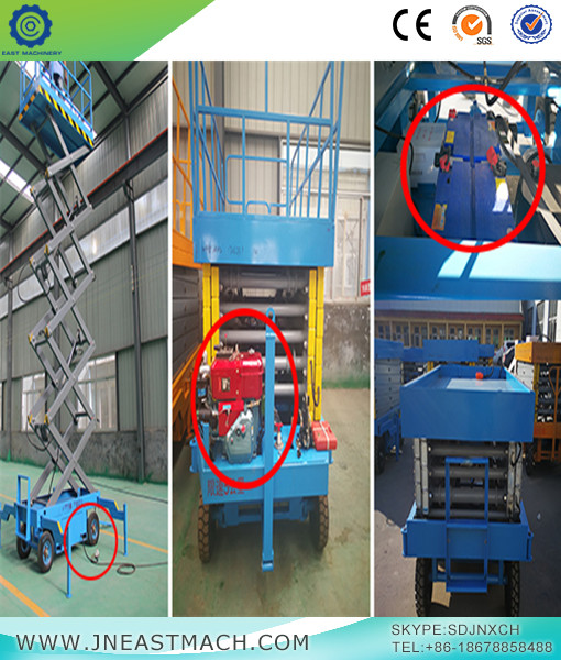 Workshop Crane Scissor Lift