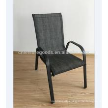 Metal steel stackable garden chair