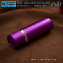Inspección de la calidad de 100% de ZB-RA30 30ml de loción airless bomba airless envases cosméticos de capas dobles