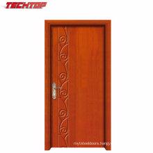 Tpw-135 Villa Entry Main Solid Teak Wood Door