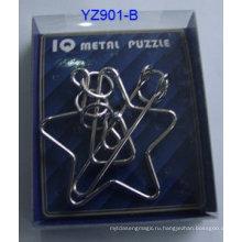 Детские игры головоломки металла металла
