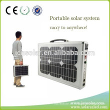 120W generador solar plegable para actividades al aire libre, camping, viajes