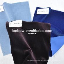Algerien Königsblau 100% Baumwollstoff samt Textilstrumpf