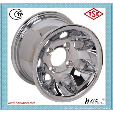 Precio competitivo plato profundo ruedas de cromo Japón aro deportivo 13 pulgadas fabricados en China