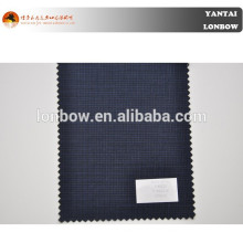 2015 check fabric stock lot for men's jacketing