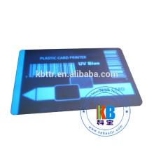 белая печать карты ПВХ прозрачная невидимая уф лента 1000 отпечатков