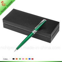 Elegante grüne Farbe Metall Stift