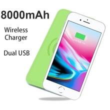 Chargeur sans fil 2018 Power Bank pour iPhone X