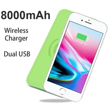 Cargador inalámbrico Power Bank 2018 para iPhone X