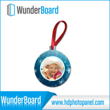 Quality Primacy Specially Sublimation Printing on Metal Ornament