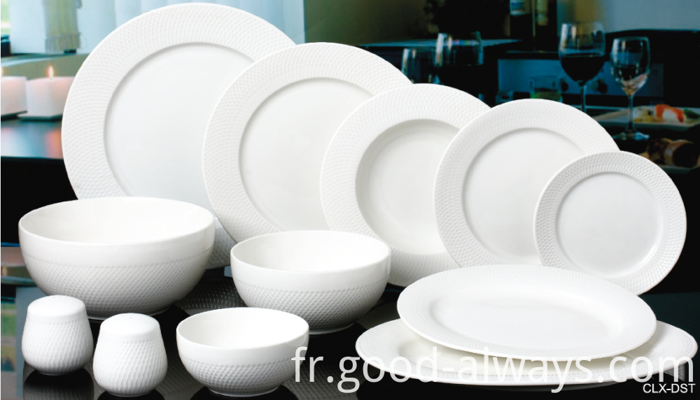 New Bone China Tableware Set