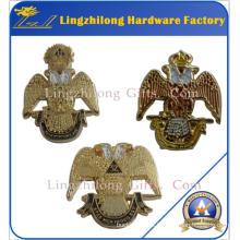 Barato 32 Degree Eagle Wing Down insignia masónica