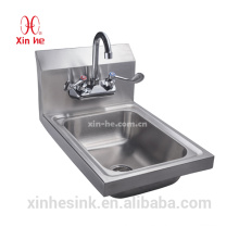 Stainless Steel Indoor or Outdoor Wall Hung Wash Basin & Bar Basin