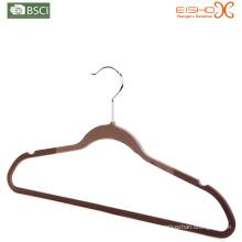 Top Rubber Coating Plastic Hanger