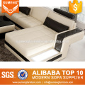 Attractive new chesterfield model sofa sets pictures with LED Light