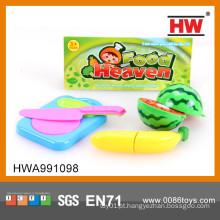 Hot Sale plástico jogo de corte de frutas de plástico brinquedo