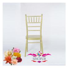 fancy wedding furniture aluminium banquet chair