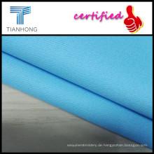 97Cotton 3Spandex Twill Stoff/Classic blau färben Spandex dünne Stoffe für Lady/2015 heiß-verkaufen Jeansstoff
