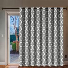 Раздвижная стеклянная дверь - занавеска для двери патио с люверсами