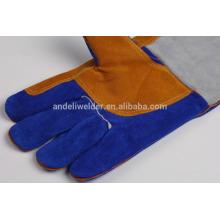 А5 47см ладони толстые сварочные перчатки коровы разделенная кожа сварочные перчатки