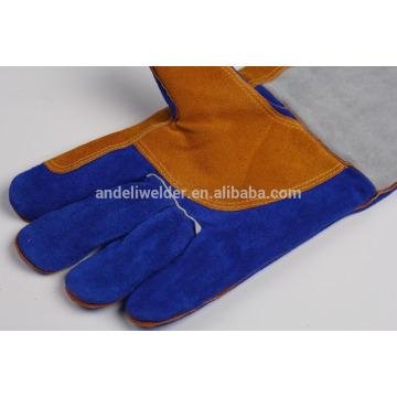 A5 47cm paume plus épais soudage gants vache split gants de soudage en cuir