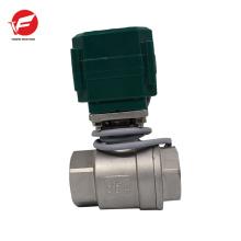 Válvula de cierre de agua eléctrica de alta resistencia para riego, fontanería