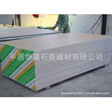 Tablero de yeso impermeable / Tablero de yeso incombustible / Tablero de yeso decorativo