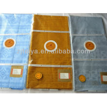 Western Nigerian Shadda FEITEX Guinea Brocade Cotton fabric Bazin Riche African Fabric